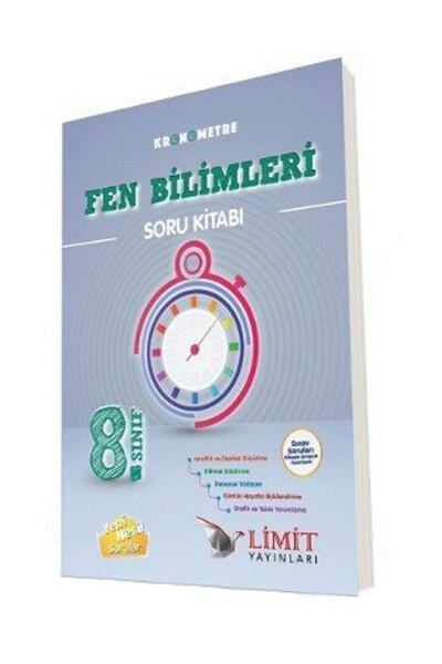 8. Sınıf Kronometre Fen Bilimleri Soru Bankası - Limit Yayınları