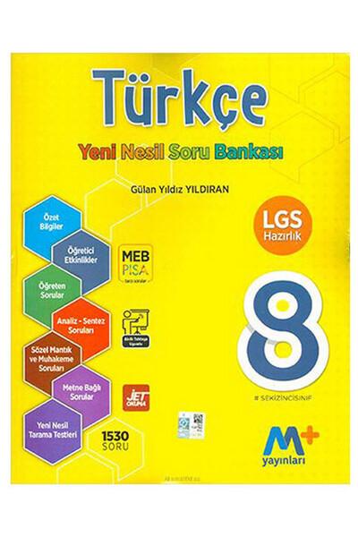 8. Sınıf LGS Türkçe Yeni Nesil Soru Bankası - Martı Okul Yayınları