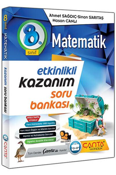 8. Sınıf Matematik Etkinlikli Kazanım Soru Bankası - Çanta Yayınları