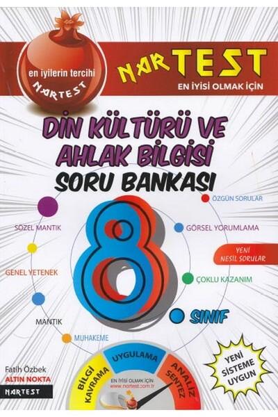 8. Sınıf Süper Zeka Din Kültürü Fen Liselerine Hazırlık Soru Bankası - Nartest Yayınları
