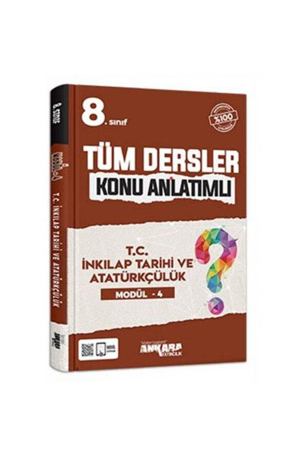 8. Sınıf T.C. İnkılap Tarihi ve Atatürkçülük Modül 4 Ankara Yayıncılık