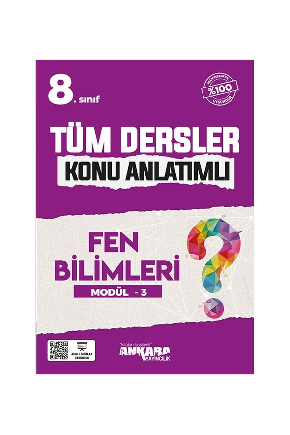8. Sınıf Tüm Dersler Konu Anlatımlı Fen Bilimleri Modül 3 Ankara Yayıncılık
