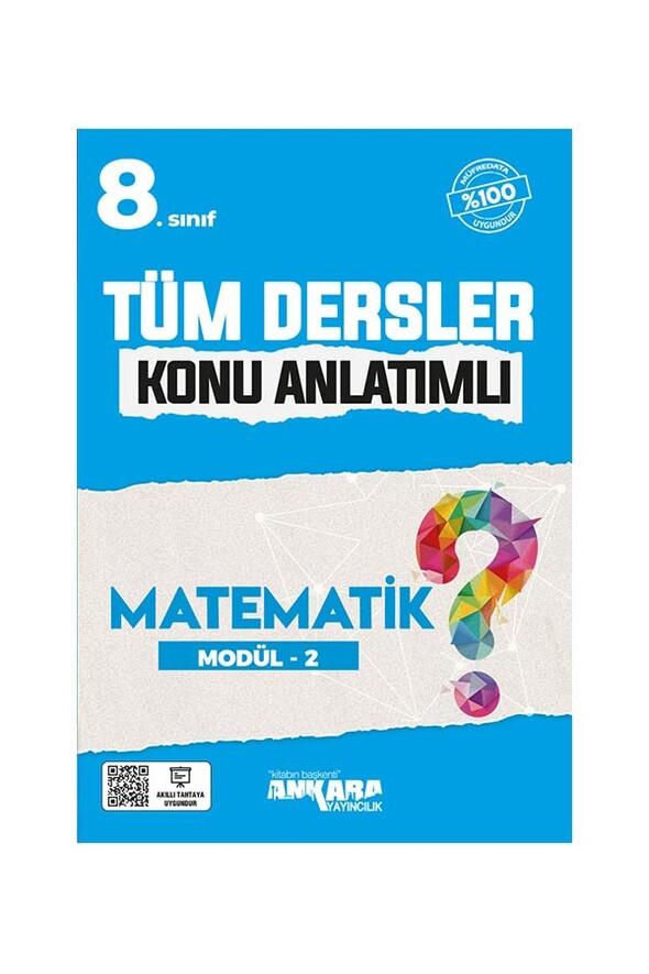 8. Sınıf Tüm Dersler Konu Anlatımlı Matematik Modül 2 Ankara Yayıncılık