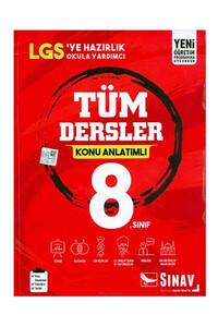 Sınav Dergisi Yayınları - 8. Sınıf Tüm Dersler Konu Anlatımlı - Sınav Dergisi Yayınları