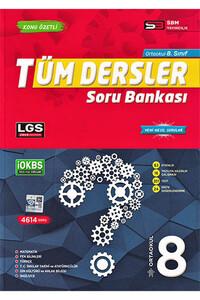 Sbm Yayıncılık - 8. Sınıf Tüm Dersler Soru Bankası - Sbm Yayıncılık