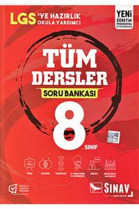 Sınav Dergisi Yayınları - 8. Sınıf Tüm Dersler Soru Bankası - Sınav Dergisi Yayınları