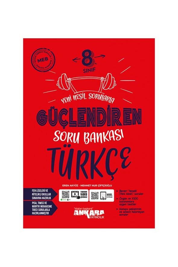 8.Sınıf Güçlendiren Türkçe Soru Bankası Ankara Yayıncılık