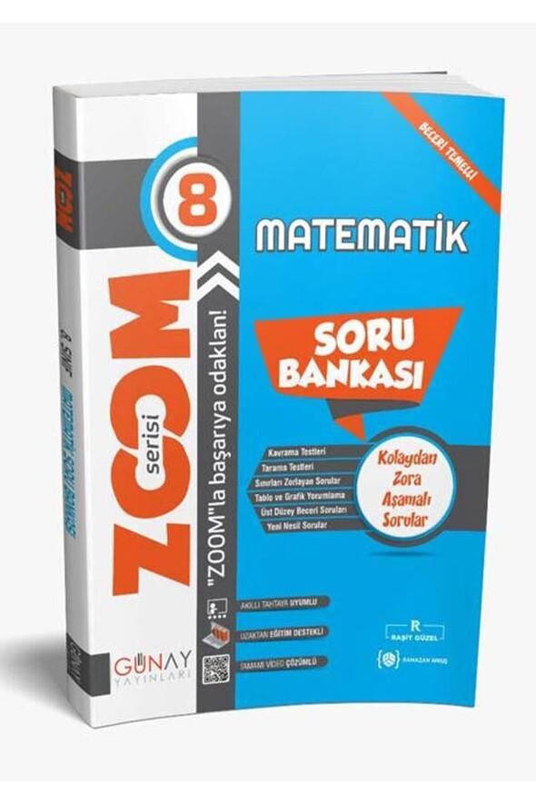 8.Sınıf LGS Matematik Zoom Serisi Soru Bankası Günay Yayınları