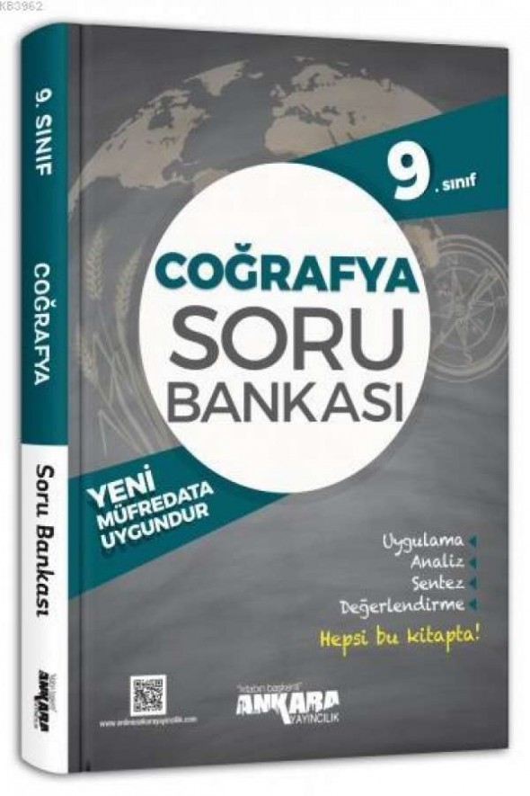 9. Sınıf Coğrafya Soru Bankası - Ankara Yayıncılık