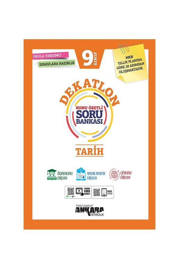 9. Sınıf Tarih Dekatlon Soru Bankası Ankara Yayıncılık