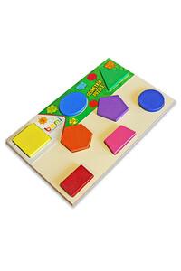 Bemi - Ahşap Geometrik Puzzle - Bemi