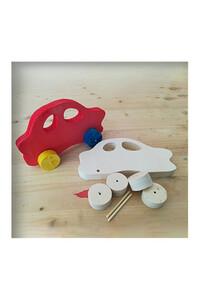 Ahşap Toy - Ahşap Oyuncak - Araba