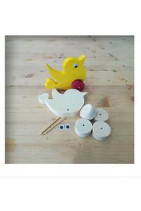 Ahşap Toy - Ahşap Oyuncak - Kuş