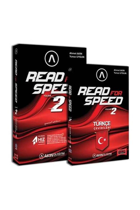 Akın Dil & Yargı Yayınları Read For Speed 2