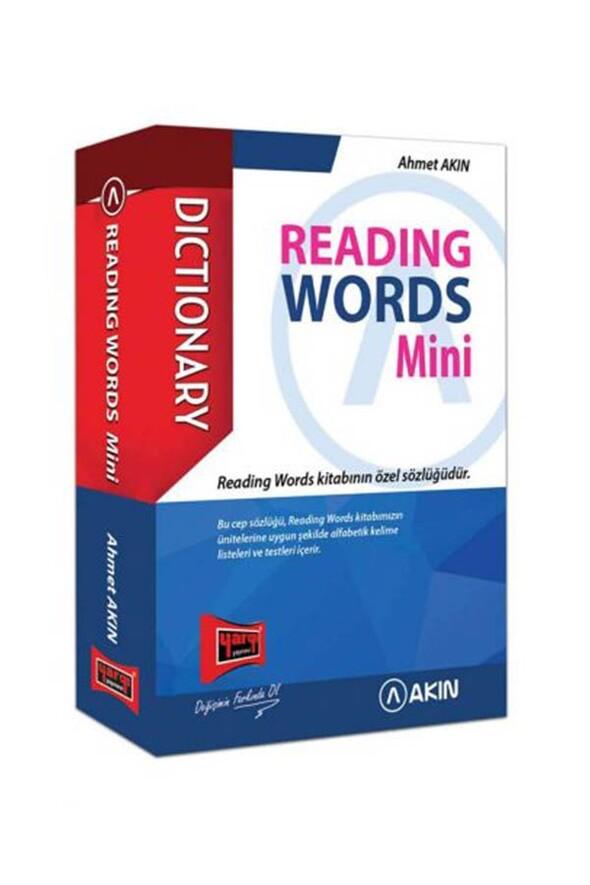 Akın Dil & Yargı Yayınları Reading Words Mini Cep Kitabı