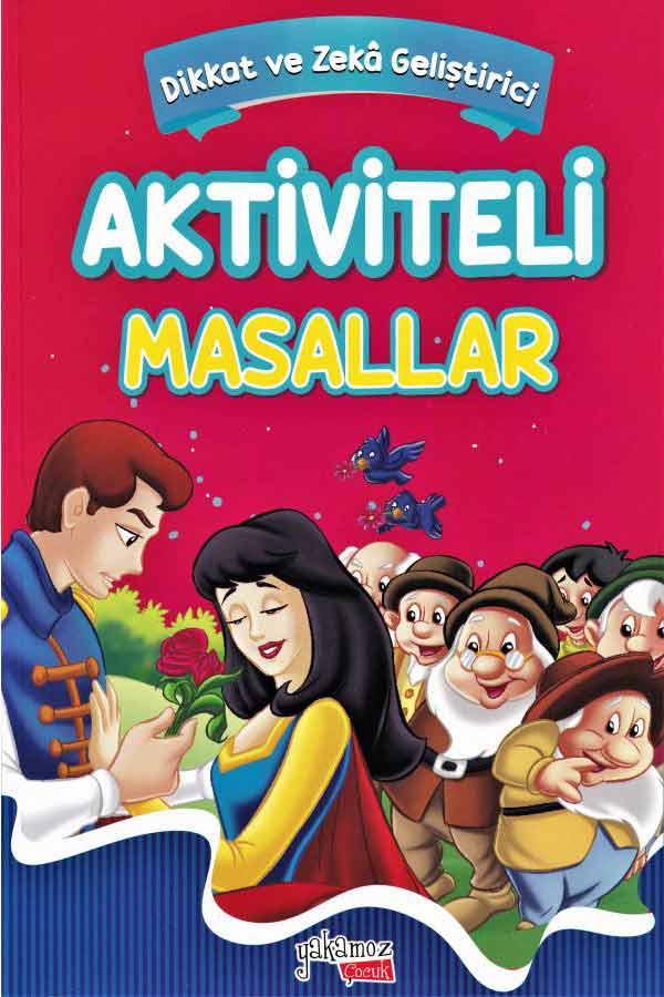 Aktiviteli Masallar - Külkedisi, Pamuk Prenses ve Yedi Cüceler, Rapunzel