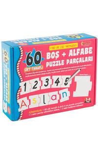 Alfabe Puzzle Parçaları Diytoy - Thumbnail