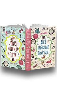 Yakamoz - Alice Harikalar Diyarında - Alice Aynanın İçinde - Kokulu Kitap