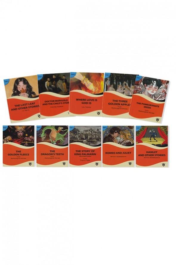 Alıştırmalı İngilizce Hikaye Seti Stage 2 - 10 Kitap