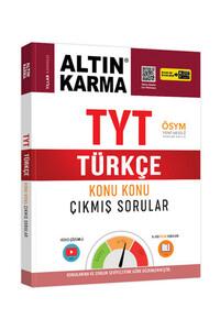 Altın Karma - Altın Karma 2020 TYT Türkçe Konu Konu Çıkmış Sorular (Kolay-Orta-Zor) - Altın Karma