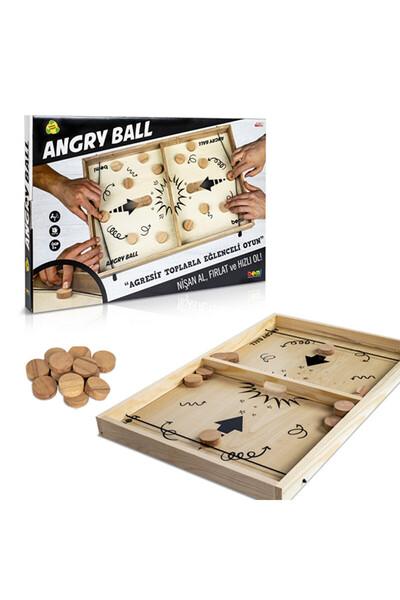 Angry Ball Ahşap Futbol Oyunu - Bemi