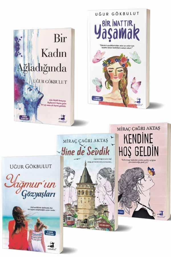 Aşk Romanları Seti - 5 Kitap