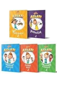 Erdem Çocuk Yayınları - Aslan Serisi 5 Kitap - Erdem Çocuk Yayınları