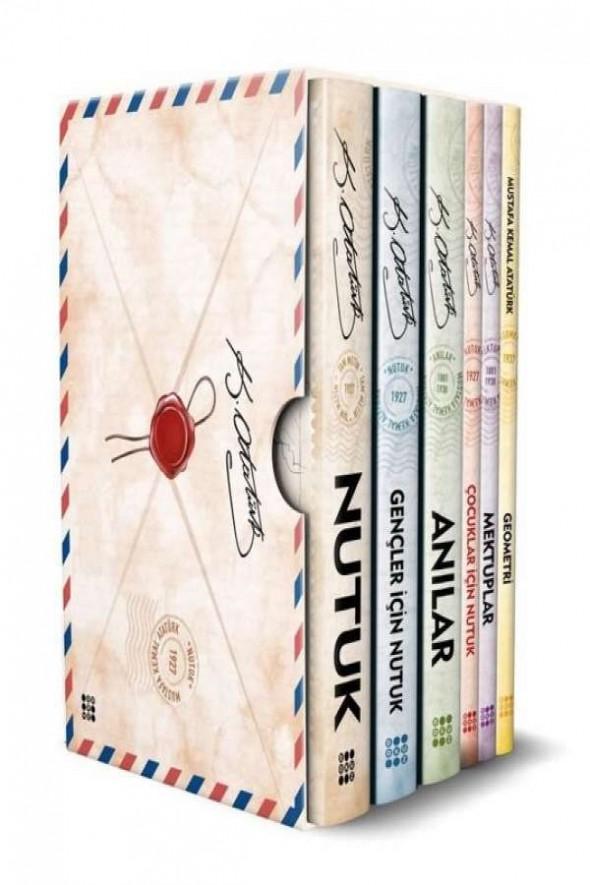 Atatürk Kitaplığı 6 Kitap Kutulu Set - Dokuz Yayınları