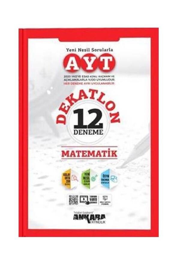 AYT Dekatlon Matematik 12 Deneme Sınavı Ankara Yayıncılık