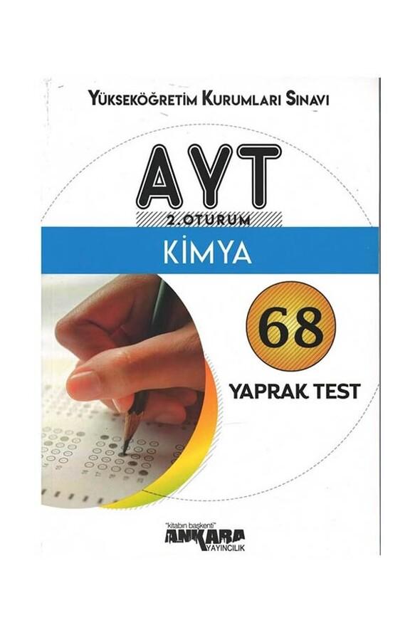 AYT Kimya 68 Yaprak Test Ankara Yayıncılık