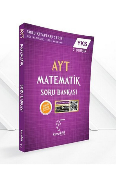 AYT Matematik Soru Bankası - Karekök Yayınları
