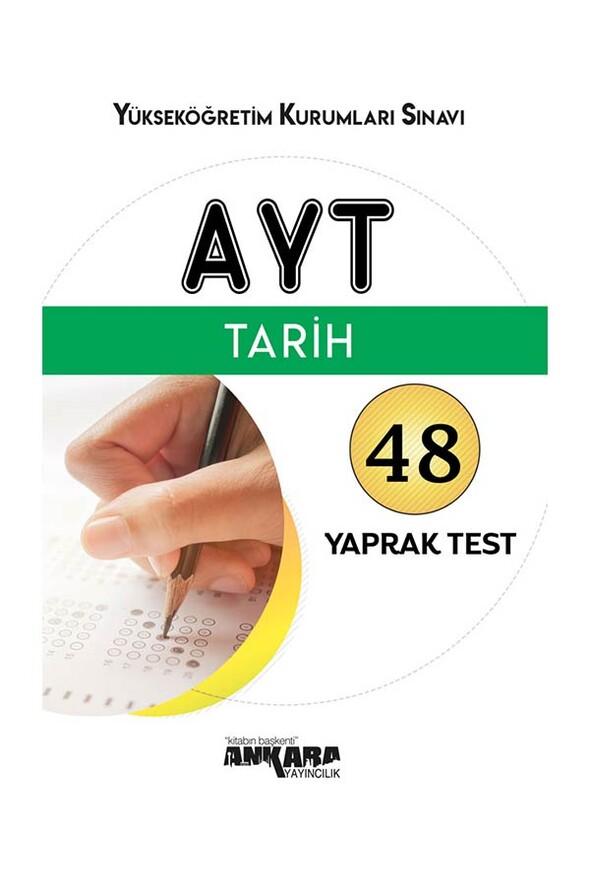 AYT Tarih 48 Yaprak Test Ankara Yayıncılık