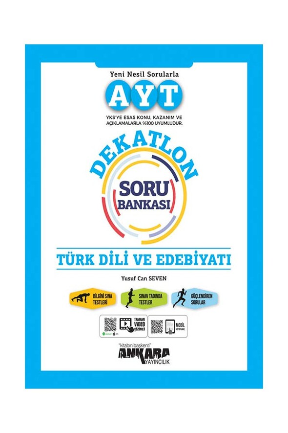 AYT Türk Dili ve Edebiyatı DEKATLON Soru Bankası Ankara Yayıncılık