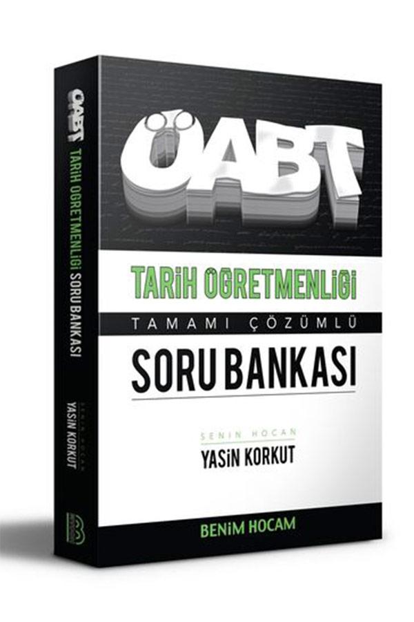 Bankası Benim Hocam Yayınları 2020 ÖABT Tarih Öğretmenliği Tamamı Çözümlü Soru