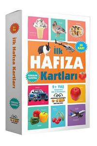 0-6 Yaş Yayınları - Bebeğimin İlk Hafıza Kartları 2 Yaş ve Üzeri - 0-6 Yaş Yayınları