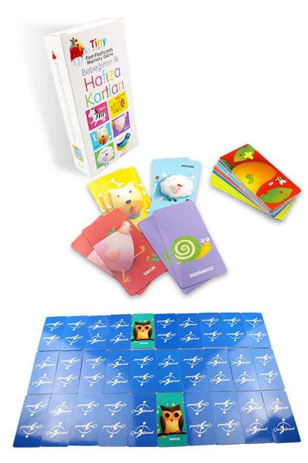 Bebeğimin İlk Hafıza Kartları - Tiny Kids