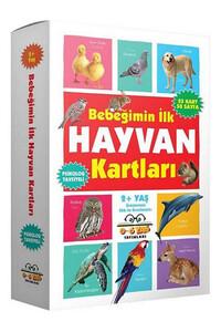 0-6 Yaş Yayınları - Bebeğimin İlk Hayvan Kartları 2 Yaş ve Üzeri - 0-6 Yaş Yayınları