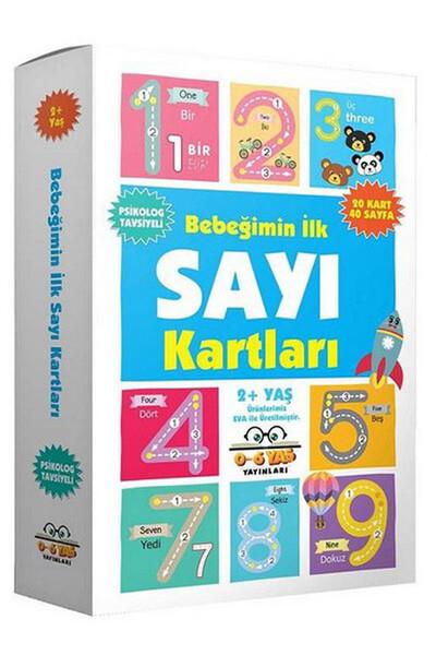Bebeğimin İlk Sayı Kartları 2 Yaş ve Üzeri - 0-6 Yaş Yayınları