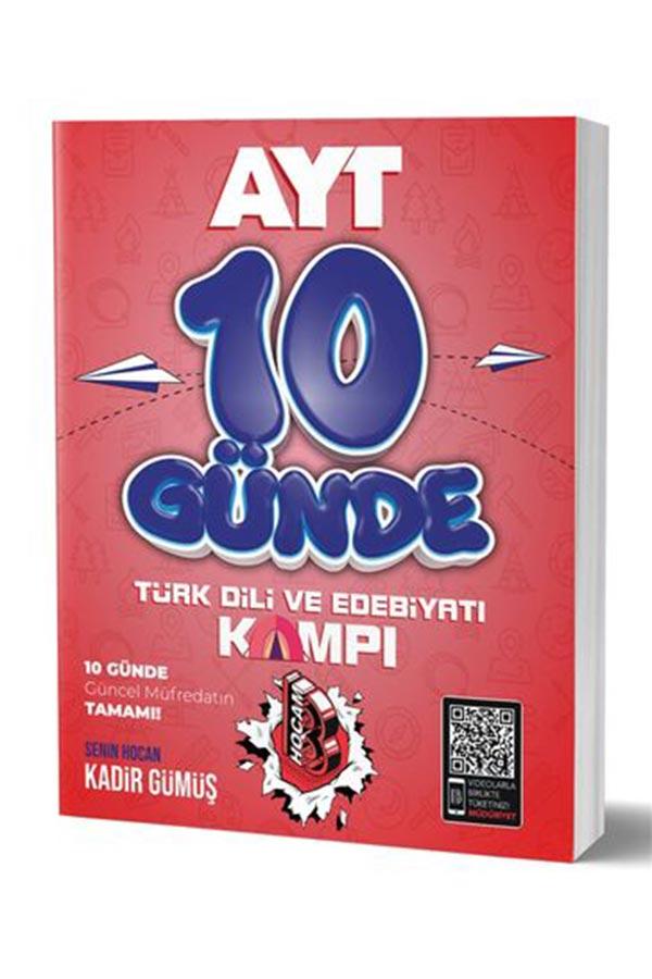 Benim Hocam Yayınları 2020 10 Günde AYT Türkdili ve Edebiyatı Kamp Defteri