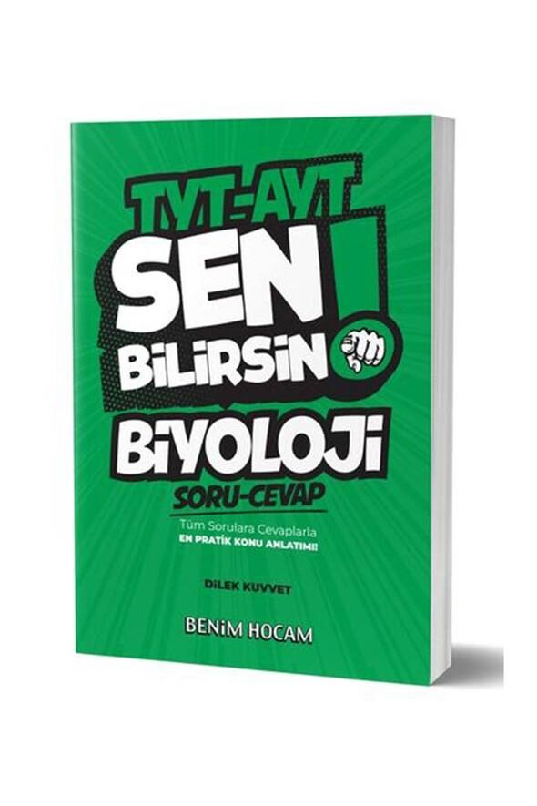 Benim Hocam Yayınları 2020 TYT AYT Biyoloji Sen Bilirsin Soru-Cevap Kitabı