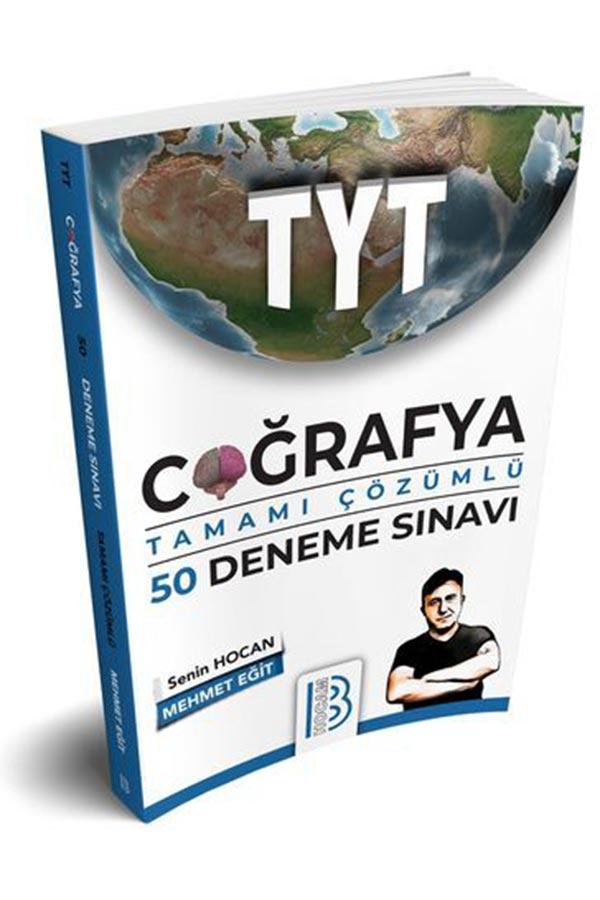 Benim Hocam Yayınları 2020 TYT Coğrafya Tamamı Çözümlü 50 Deneme Sınavı