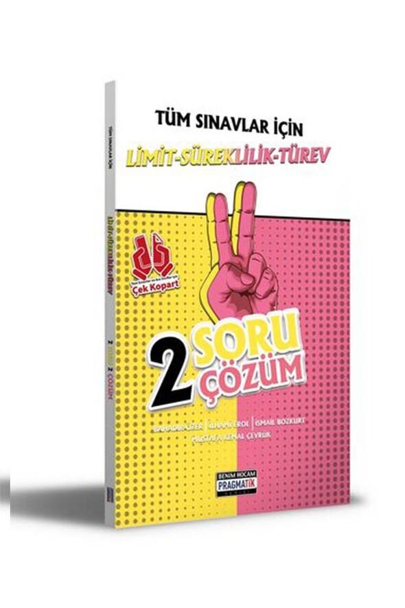 Benim Hocam Yayınları 2021 Tüm Sınavlar İçin Limit-Süreklilik-Türev 2 Soru 2 Çözüm Fasikülü