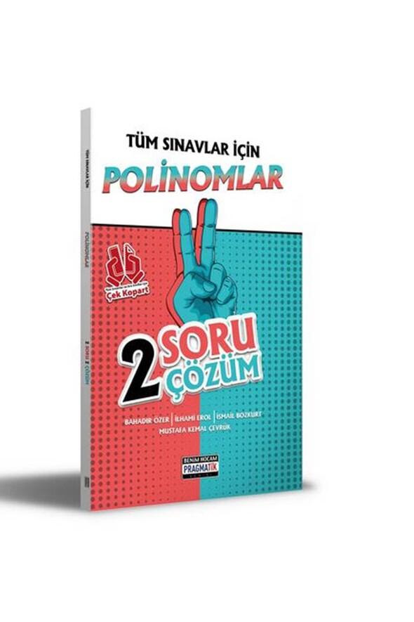 Benim Hocam Yayınları 2021 Tüm Sınavlar İçin Polinomlar 2 Soru 2 Çözüm Fasikülü