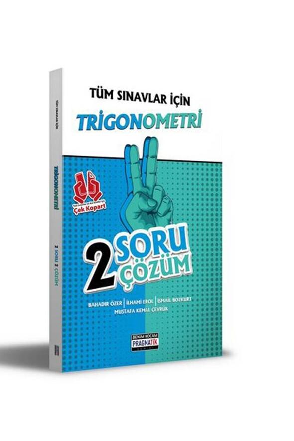Benim Hocam Yayınları 2021 Tüm Sınavlar İçin Trigonometri 2 Soru 2 Çözüm Fasikülü