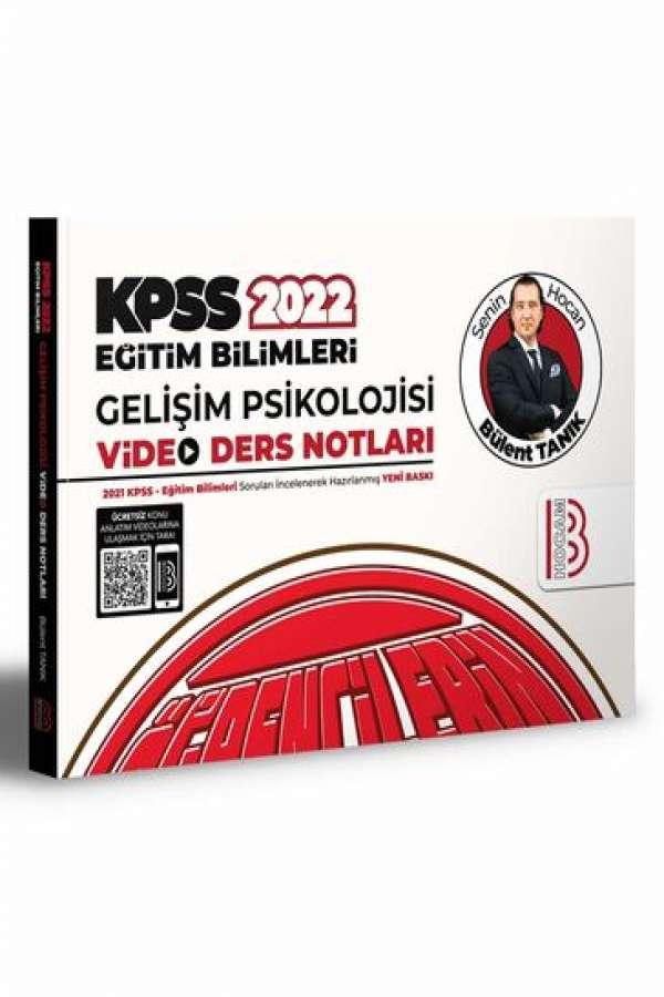 Benim Hocam Yayınları 2022 KPSS Eğitim Bilimleri Gelişim Psikolojisi Video Ders Notları