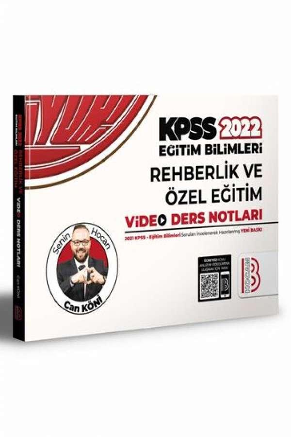 Benim Hocam Yayınları 2022 KPSS Eğitim Bilimleri Rehberlik Video Ders Notları