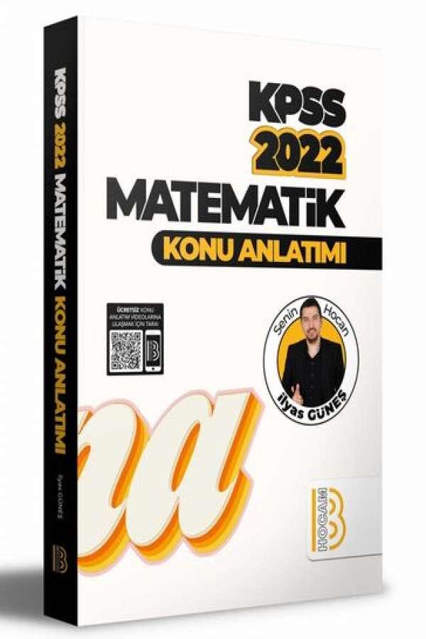 Benim Hocam Yayınları 2022 KPSS Matematik Konu Anlatımı