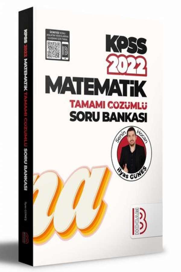 Benim Hocam Yayınları 2022 KPSS Matematik Tamamı Çözümlü Soru Bankası