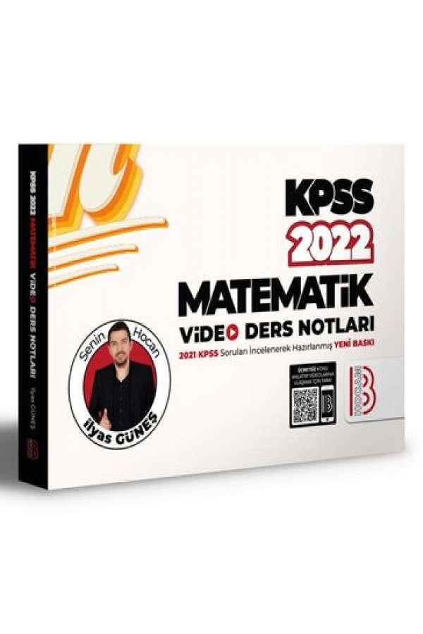 Benim Hocam Yayınları 2022 KPSS Matematik Video Ders Notları