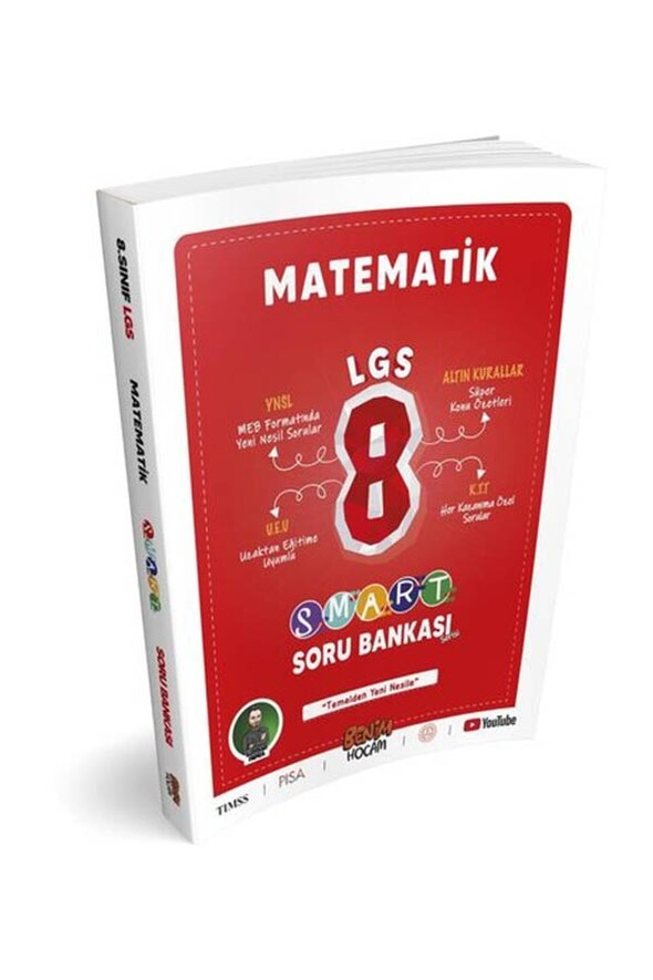 Benim Hocam Yayınları LGS 8. Sınıf Smart Serisi Matematik Soru Bankası